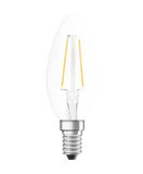OSRAM STAR E14 B Filament LED Kerze 2,5W 250Lm 4000K warmweiss wie 25W