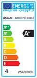 OSRAM STAR E27 A Filament LED Lampe 4W 420Lm 2700K warmweiss wie 37W
