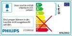Philips LED Aussenleuchte Ledino Freedom mit Sensor 3W warmweiss 17239/93/16