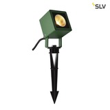 SLV 1001938 NAUTILUS 10 Spike LED Outdoor Erdspießleuchte grün IP65 3000K 45°