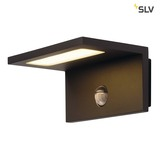 SLV 1001969 LED SENSOR WL LED Outdoor Wandaufbauleuchte IP44 anthrazit 3000K