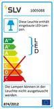 SLV 1005088 SIMA SENSOR LED Leuchte weiss 3000K eckig IP44